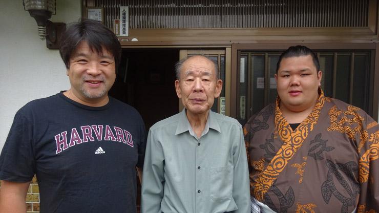 叙勲を受けられた恩師 西村光夫先生